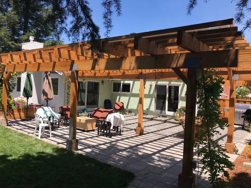 Wooden Arbor San Jose