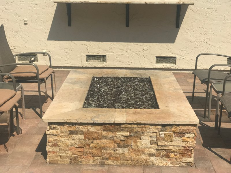 Masonry Outdoor Fire-pit Gilroy