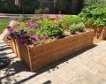 Raised Wooden Planter Beds Front Side  San Jose